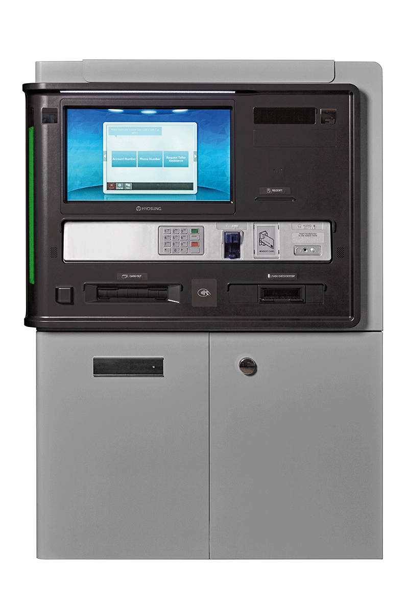 Nautilus Hyosung MX7800i ATM Only FI Series ATM Machine