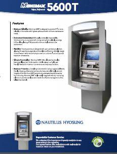 Nautilus Hyosung 5600T FI Series ATM Machine